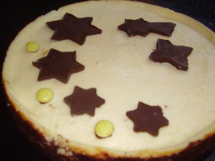 FOTKA - hvězdičkový cheesecake