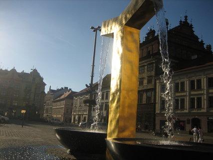 FOTKA - fontána v Plzni