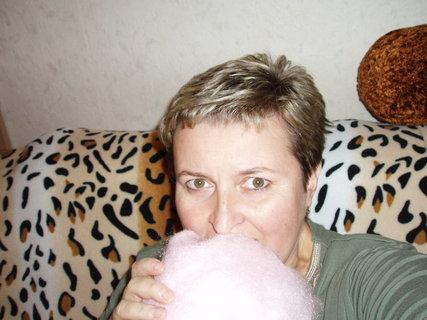 FOTKA - takhle se cpu po letech cukrovou vatou  :)