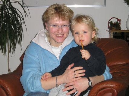 FOTKA - Na návštěvě u tety a strejdy