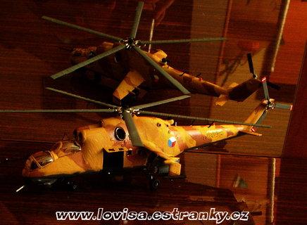 FOTKA - Model vrtulníku MIL-24