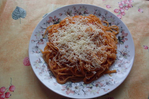 FOTKA - Boloňské špagety...
