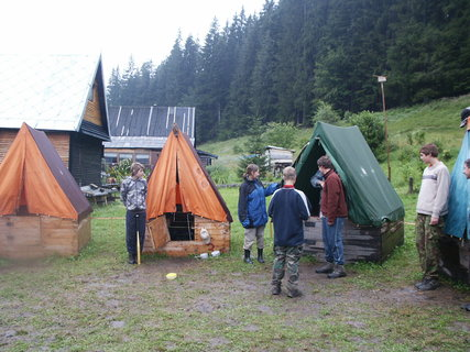 FOTKA - Slovensko 2009, vodácký tábor