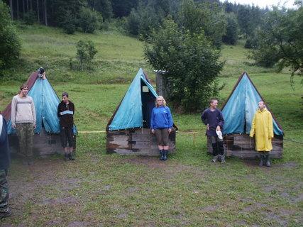 FOTKA - Slovensko 2009, vodácký tábor 2