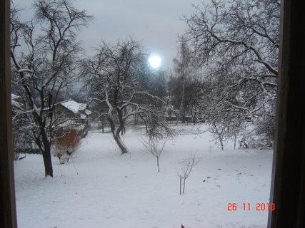 FOTKA - výhled z okna