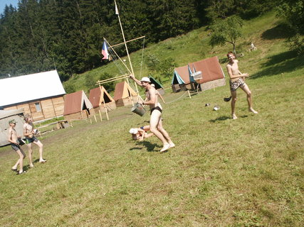 FOTKA - Na vodáckém táboře na Slovensku 1