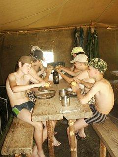 FOTKA - Slovensko - vodácký tábor