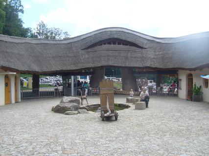 FOTKA - Vchod do zoo.