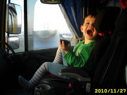 FOTKA - Tomula v kamionu..Nemecko...:)