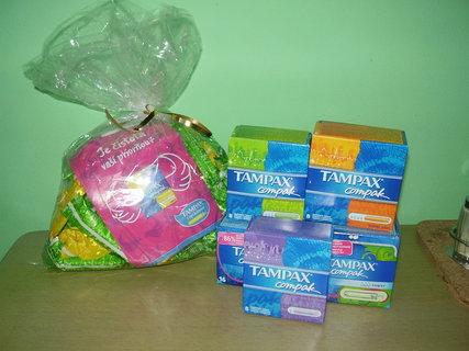 FOTKA - Výhra-dárkový balíček Tampax