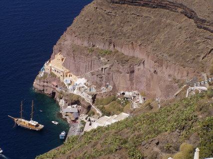 FOTKA - Pohled na Firu v Santorini