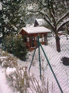 FOTKA - Altánek pod sněhem