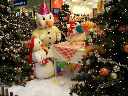 FOTKA - vánoční výzdoba nákupní centrum Arkády Praha