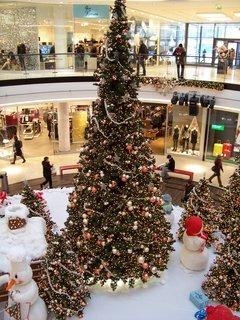 FOTKA - vánoční výzdoba nákupní centrum Arkády Praha...