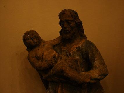 FOTKA - socha v interiéru