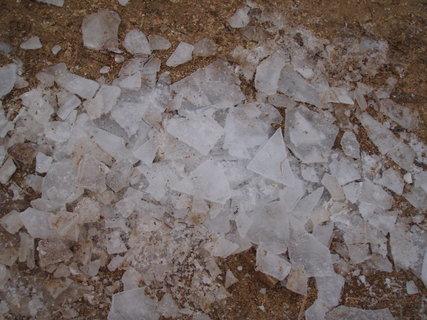 FOTKA - ledové střepy