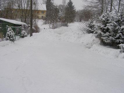 FOTKA - sníh,všude jen sníh
