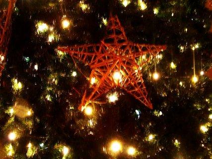 FOTKA - detail vánočního stromku