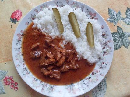 FOTKA - Masíčko se šťávou a rýží