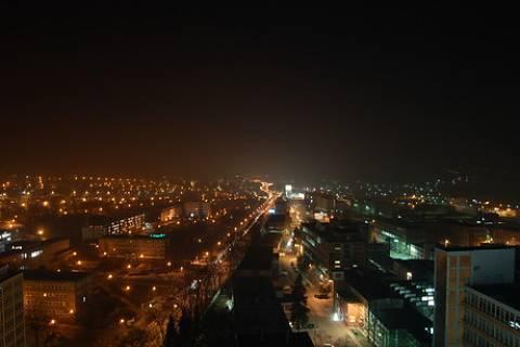 FOTKA - Noční Zlín