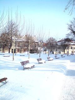 FOTKA - Zima v lázních