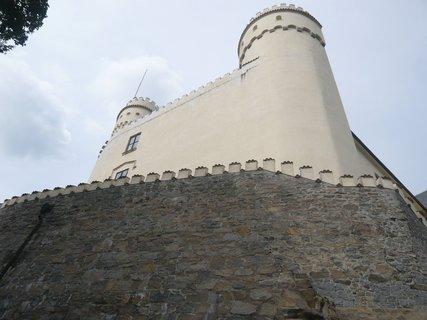 FOTKA - - ze zámku Orlík.