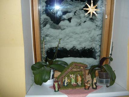 FOTKA - vánoční okno 2