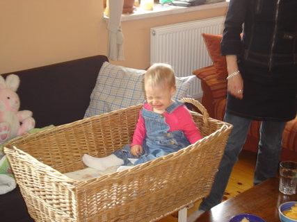 FOTKA - loučení s košíkem,kde spinkávala
