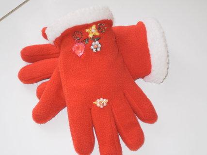 FOTKA - ručně vyšívané rukavičky
