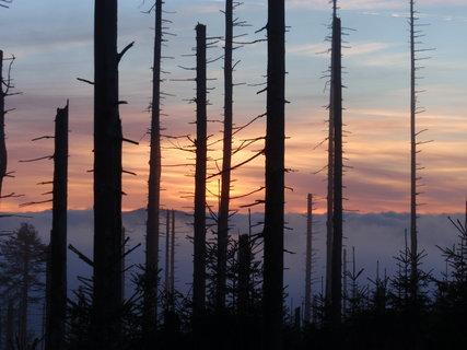 FOTKA - Západ slunce na horách ..