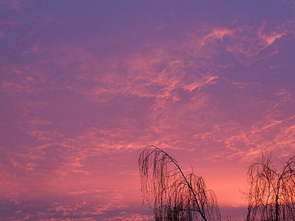 FOTKA - Ranní obloha .