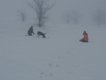FOTKA - Hrátky ve sněhu