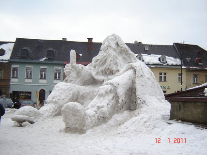 FOTKA - Krakonoš na náměstí3
