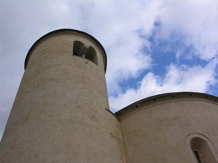 FOTKA - rotunda sv. Jiří  -  na Řípu