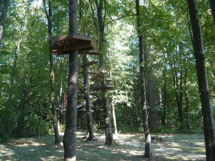 FOTKA - lanový park u hradu Helfštýn