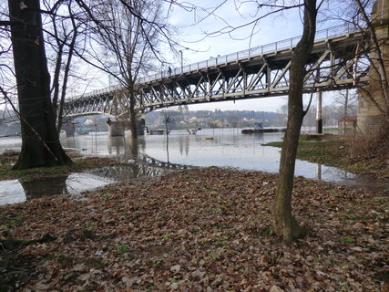 FOTKA - Labe pod mostem