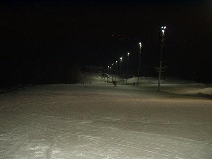 FOTKA - Včerejší večerní lyžovačka