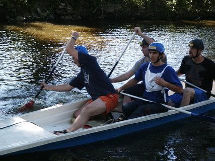 FOTKA - Vodáci v Lovosicích