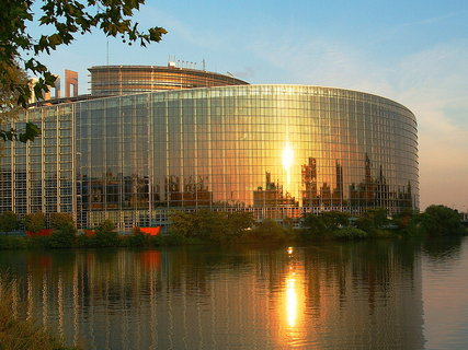 FOTKA - Ranní pohled ze Štrasburku