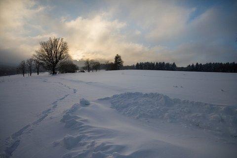 FOTKA - Silnice se v zimě neudržuje