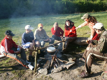 FOTKA - Takto si vodáci vaří :-)