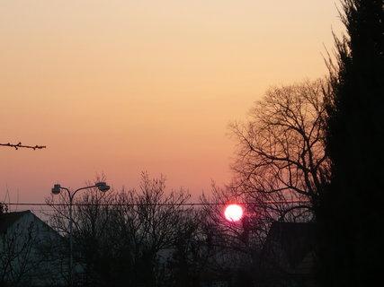 FOTKA - včerejší západ