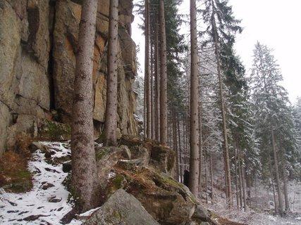 FOTKA - u Děkanských Skalin