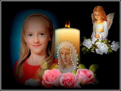 FOTKA - tato fotka mi přišla e-mailem, abych neporušovala práva, upravila jsem ji, chtěla jsem, abychom se všichni na chvíli zastavili a tiše zavzpomínali nad krutým osudem malé Aničky, děkuji