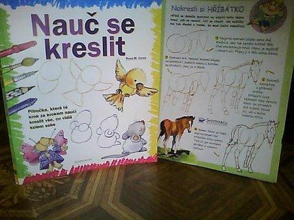 FOTKA - hezká knížka s předlohami na kreslení pro malé děti