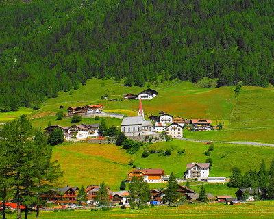 FOTKA - Na tyrolském venkově