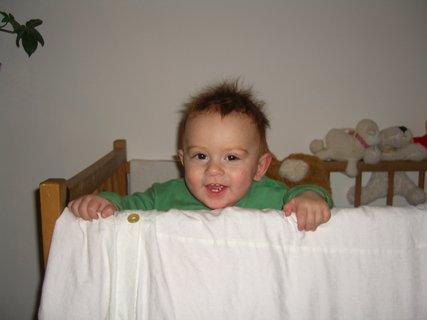 FOTKA - Maťko v postýlce 10