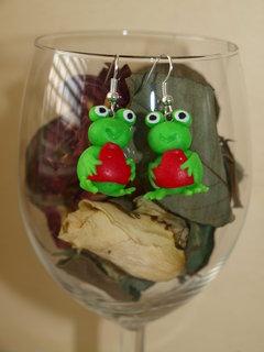 FOTKA - žabky náušky