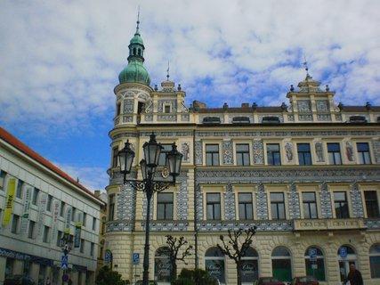 FOTKA - Písek - Alšovo náměstí
