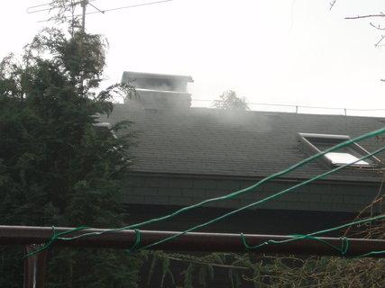 FOTKA - souseda zatopila,honem sklízim prádlo než nám začoudí celou zahradu